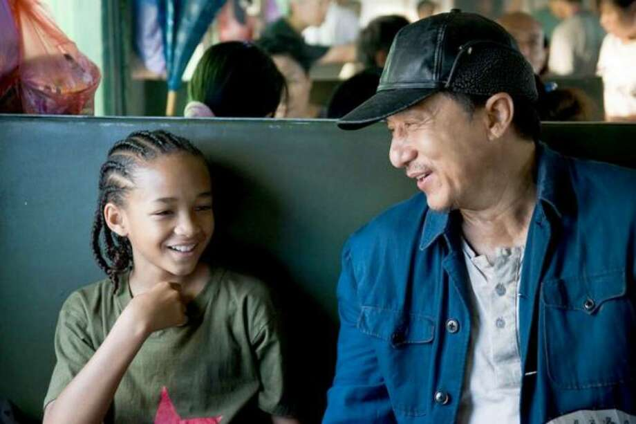 """Jaden Smith as """"Dre"""" and Jackie Chan as """"Mr. Han"""" in the recently released remake of """"The Karate Kid."""" Photo: / Columbia Pictures"""