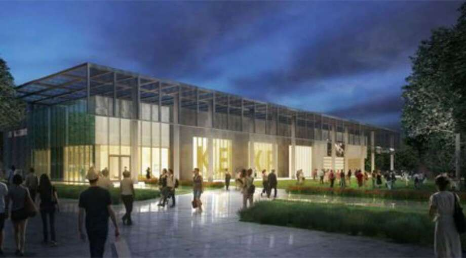 A rendering of KEXP's proposal for Seattle Center Photo: / KEXP