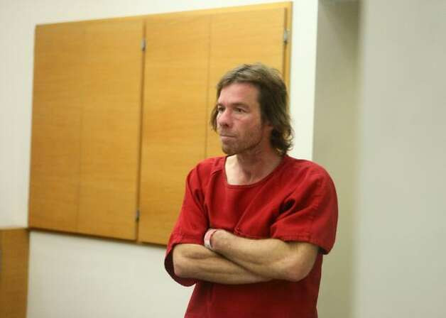 Arson suspect Kevin Todd Swalwell appears before a judge at the King County Correctional Facility on Saturday November 14, 2009 in Seattle. Bail for the alleged serial arsonist was set at $1 million. (Joshua Trujillo, Seattlepi.com) Photo: Joshua Trujillo/seattlepi.com