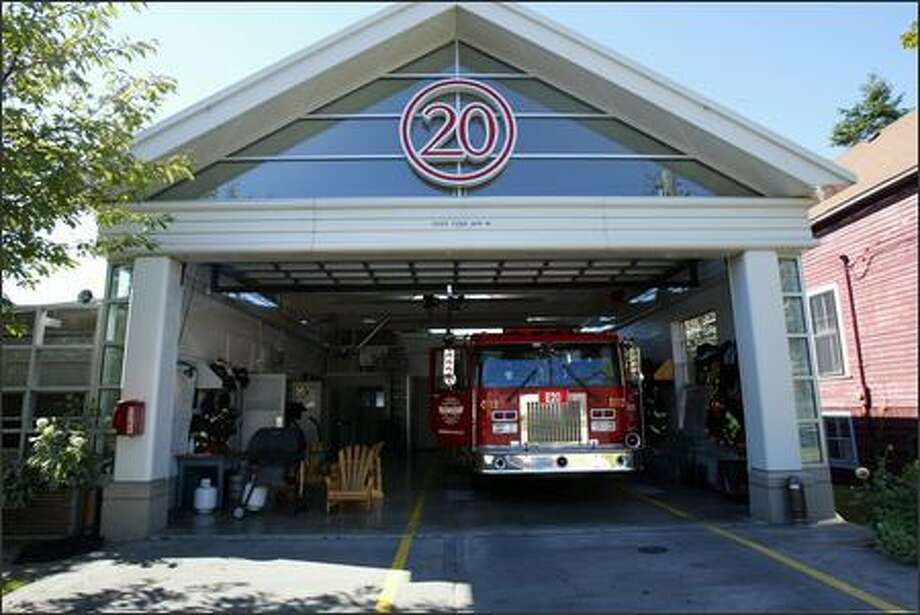 Queen Anne's Fire Station 20 is seen in this 2006 file photo. Photo: Karen Ducey/Seattle Post-Intelligencer