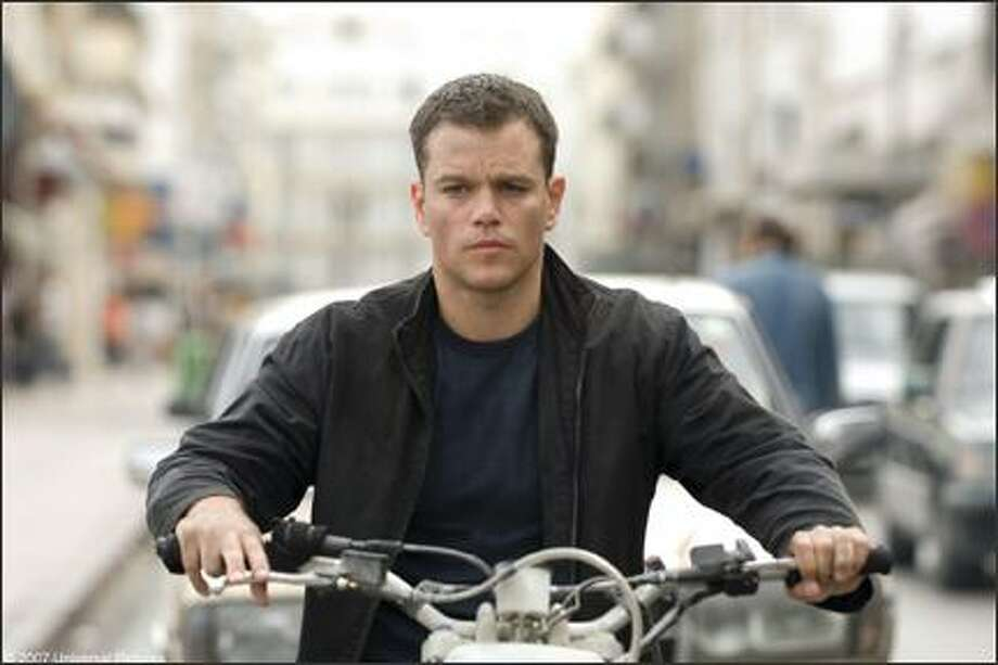 "Matt Damon as Jason Bourne in ""The Bourne Ultimatum."""