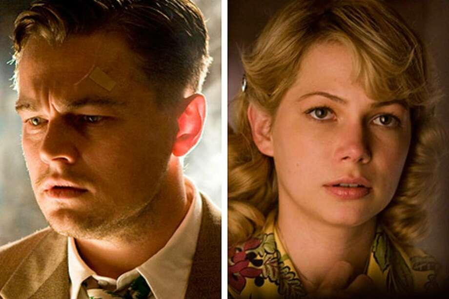 "Leonardo DiCaprio and Michelle Williams star in ""Shutter Island,"" due out before the end of February. Photo: / Paramount Pictures"