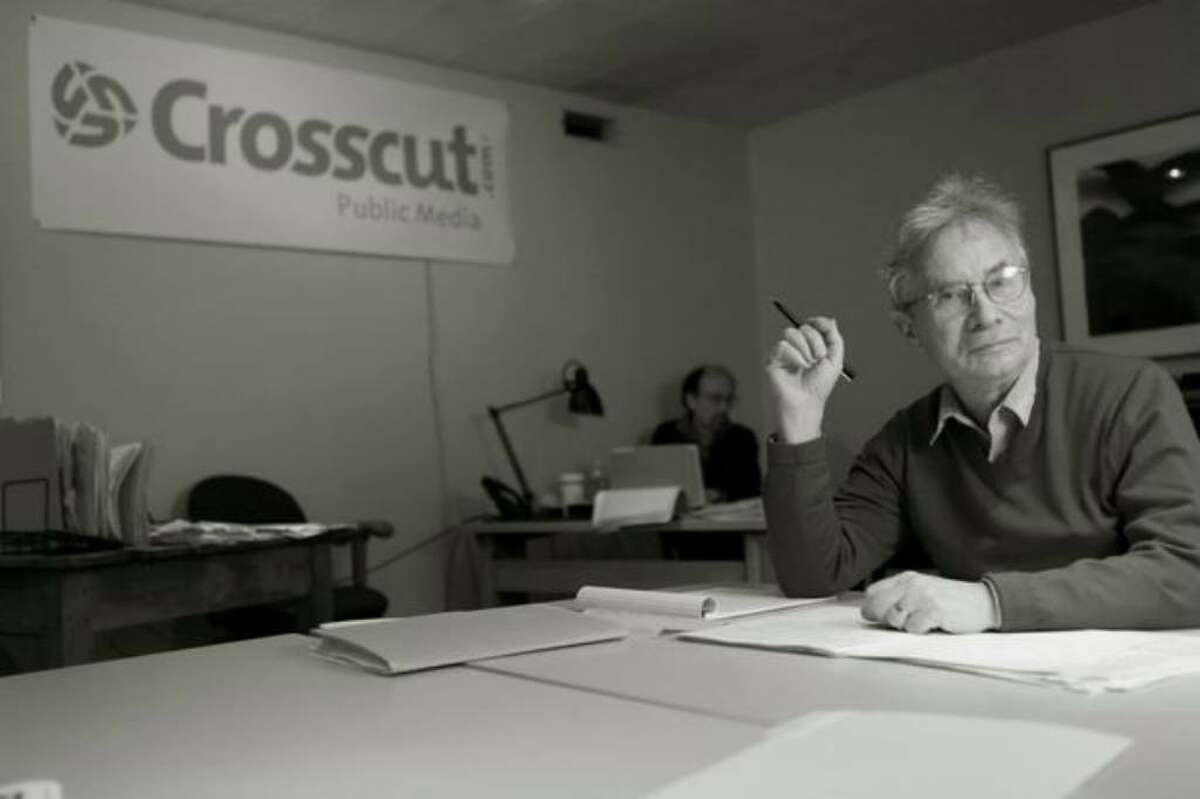 David Brewster, founding publisher of the Seattle Weekly. He has since founded Crosscut, and Town Hall Seattle.