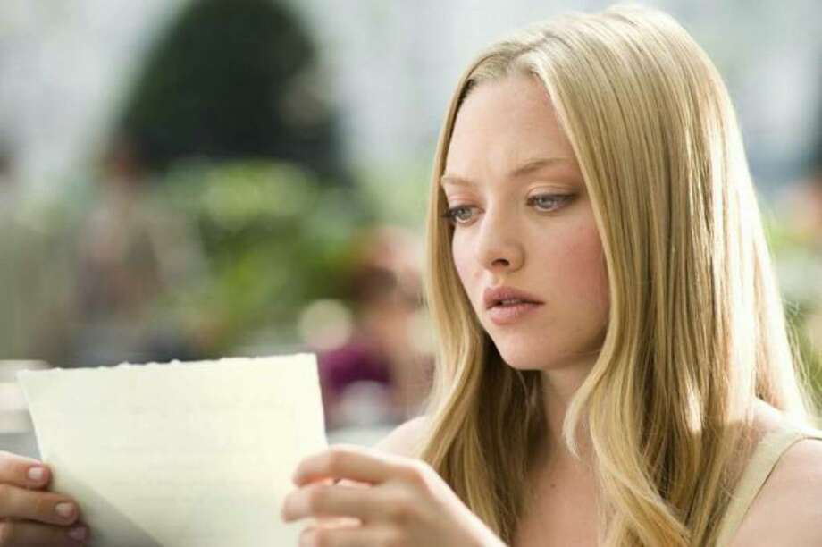"Amanda Seyfriend stars in ""Letters to Juliet,"" which opened in theaters this week. Photo: / Summit Entertainment"