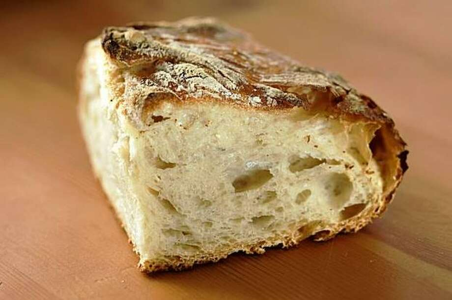"""The Basic No-Knead Bread Recipe from the book """"My Bread"""" by Jim Lahey. Photo: / San Francisco Chronicle"""