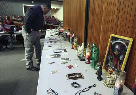Studying the saints that narcos pray to - San Antonio Express-News