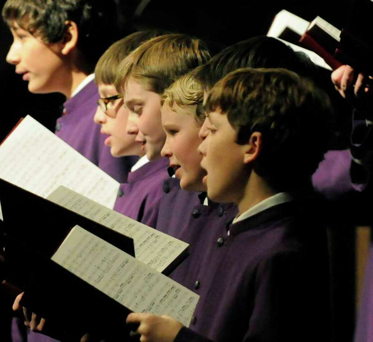 The Cathedral Choir of Men and Boys, under the direction of Woodrow Bynum, present seasonal favorite Handel's