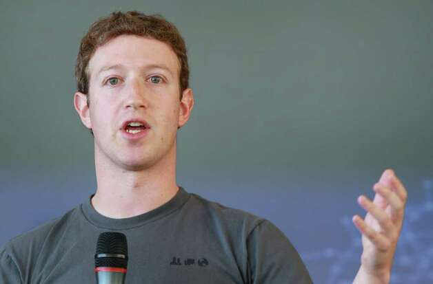 Facebook founder and CEO Mark Zuckerberg speaks during an event Nov, 15, 2010, in San Francisco. Photo: Justin Sullivan, Getty Images / 2010 Getty Images