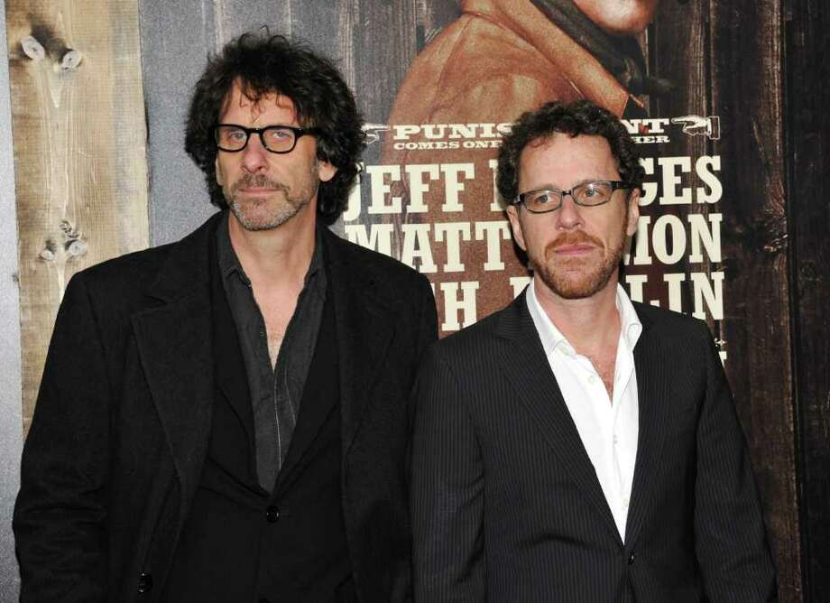 Directors, screenwriters and producers Joel and Ethan Coen attend the premiere of 'True Grit' at the Ziegfeld Theatre on Tuesday, Dec. 14, 2010 in New York. (AP Photo/Evan Agostini) Photo: Evan Agostini