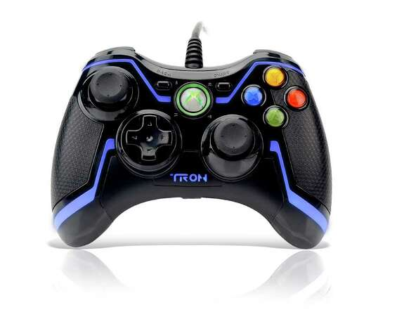 "The ""TRON"" controller for the Xbox 360 / San Antonio Express-News"