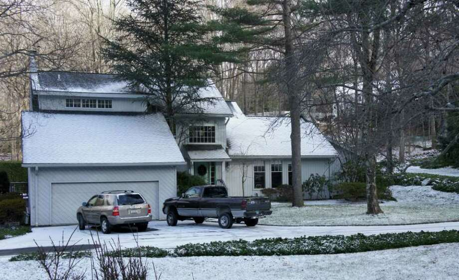 This picture shows 21 Punch Bowl Drive. Photo: Paul Schott / Westport News
