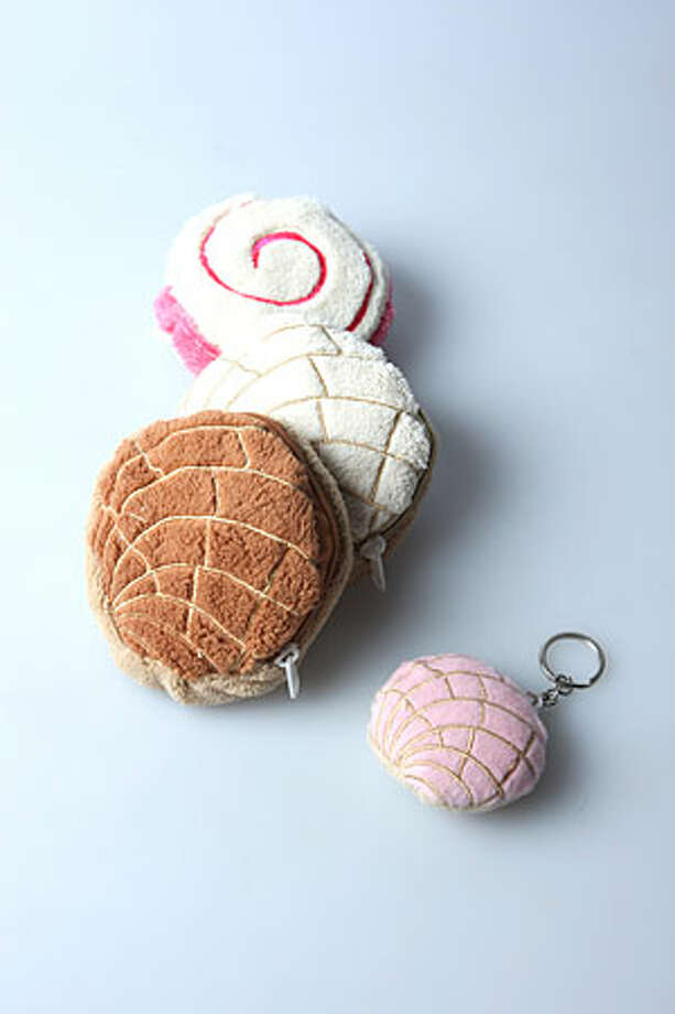 Pan dulce purses andpillowsStarting at $6.99, Krazy Vatos Emporium, 2342 S.  Presa St., 210-532-7100, krazyvatosemporium.comIf you grew up around any ounce of Mexican American  culture, you'll recognize and appreciate these coin purses and pillows shaped  like traditional pan dulce. This is a unique gift that's perfect as a stocking  stuffer or for that hard-to-shop-for person. (Krazy Vatos – co-owned by actors  Jesse  Borrego and Danny de la Paz — is shutting its doors at the end of the year.  Items will still be available online. Plans are to reopen the store in another  San Antonio location in2012.)