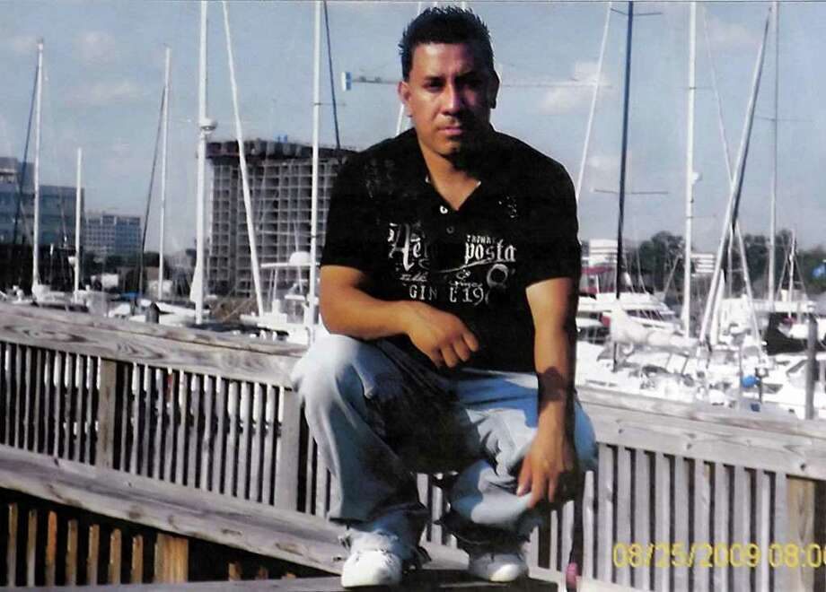 Jose Joaquin Morales poses near Stamford Harbor August 25th, 2009.  Morales was shot and killed during a robbery, Oct 10th, 2009, Photo: Contributed Photo / Stamford Advocate Contributed