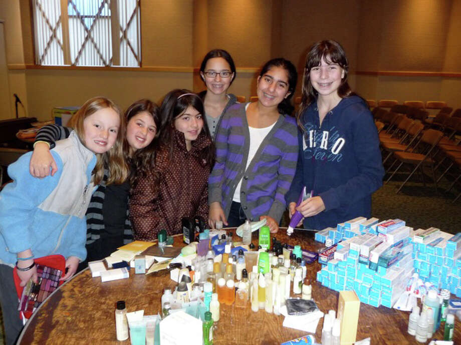 Congregation Beth El in Fairfield recently assembled and sent more than 250 Operation Mitzvah care packages to U.S. troops serving overseas. Photo: Contributed Photo / Fairfield Citizen contributed