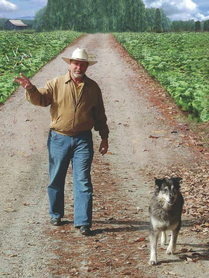 "This photo of Norwalk native Frank Lato graces the back cover of his new book,""Tobacco Road: How to Choose Not to Use."" Photo: Contributed Photo / Bon Livengood, Contributed Photo / Norwalk Citizen"