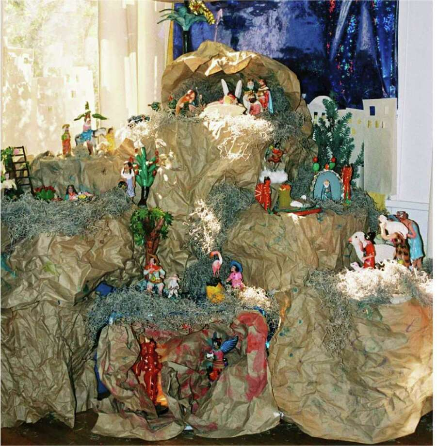 "The traditional Mexican nacimiento, or Nativity scene, not only tells the story of the birth of Jesus, it also tells the story of the birth of mestizos, says Jesús de la Torre, founder of Colectivo Cultural. De la Torre will discuss the hows and whys in ""Nativities a la Mexicana: How to Set up a Mexican Nacimiento."" / San Antonio Express-News"