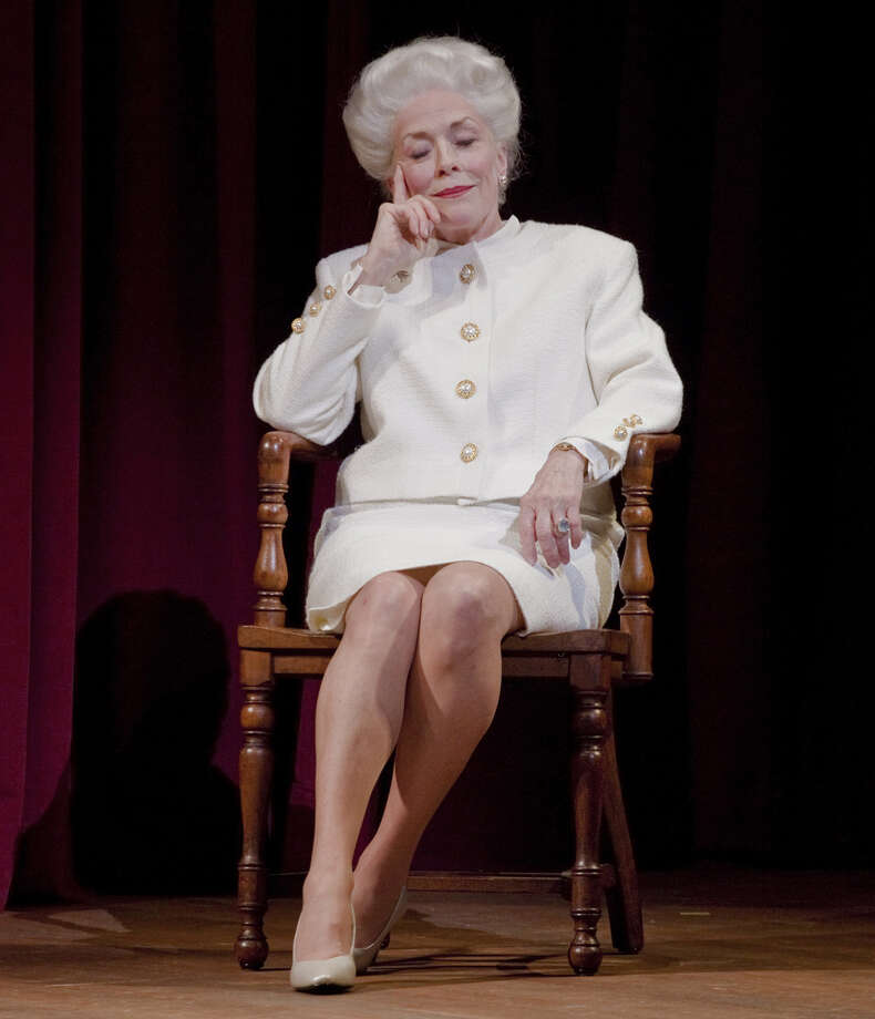 Hollans Taylor portrays Ann Richards during her play about the former Texas governor, who died in 2006. Photo: Courtesy