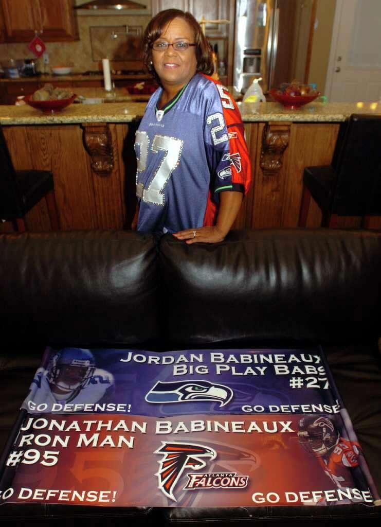 GAME Atlanta Falcons Jonathan Babineaux Jerseys