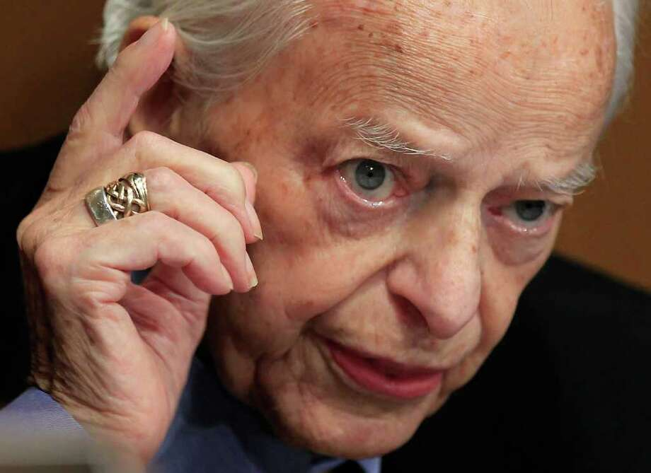 U.S. Sen. Robert Byrd died June 28 at 92. Photo: Alex Wong, Getty Images / Getty Images