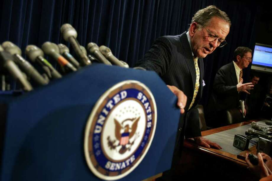 U.S. Sen. Ted Stevens died August 9 at 86. Photo: Joe Raedle, Getty Images / Getty Images