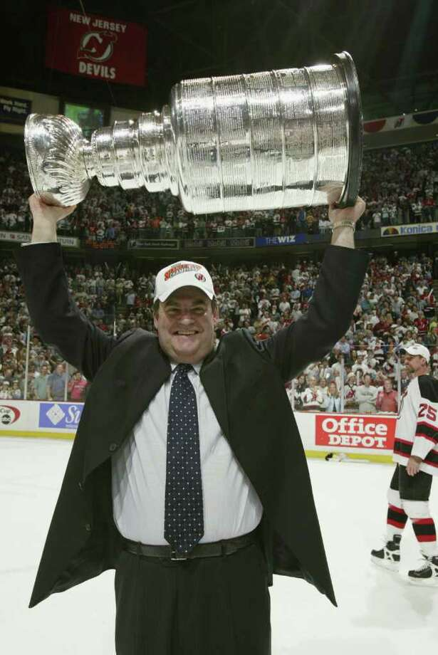 NHL head coach Pat Burns died November 15 at 58. Photo: Elsa, Getty Images/NHLI / Getty Images