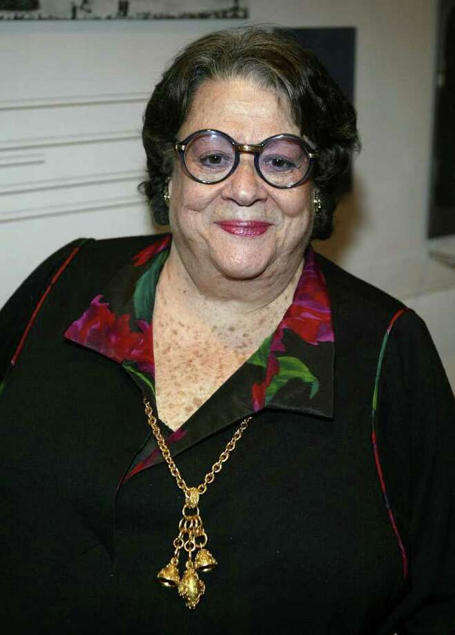 Restauranteur Elaine Kaufman died December 3 at 81. Photo: Paul Hawthorne, Getty Images / Getty Images