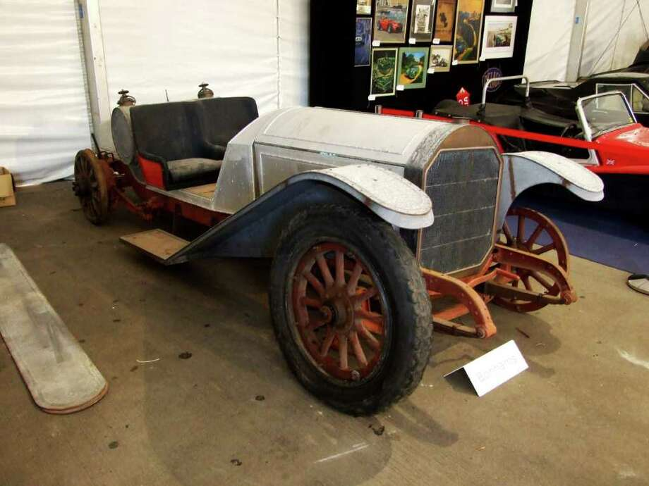 Contributed Photo\Cosmopolitan Motors A Model 48 Locomobile, believed to be from 1920, shown at the Bonham's sale of Collector Motorcars and Memorabilia in Sydney, Australia in November. Despite a bid of $42,000, the car did not sell. Photo: Contributed Photo\Cosmopolitan Motors / Connecticut Post Contributed