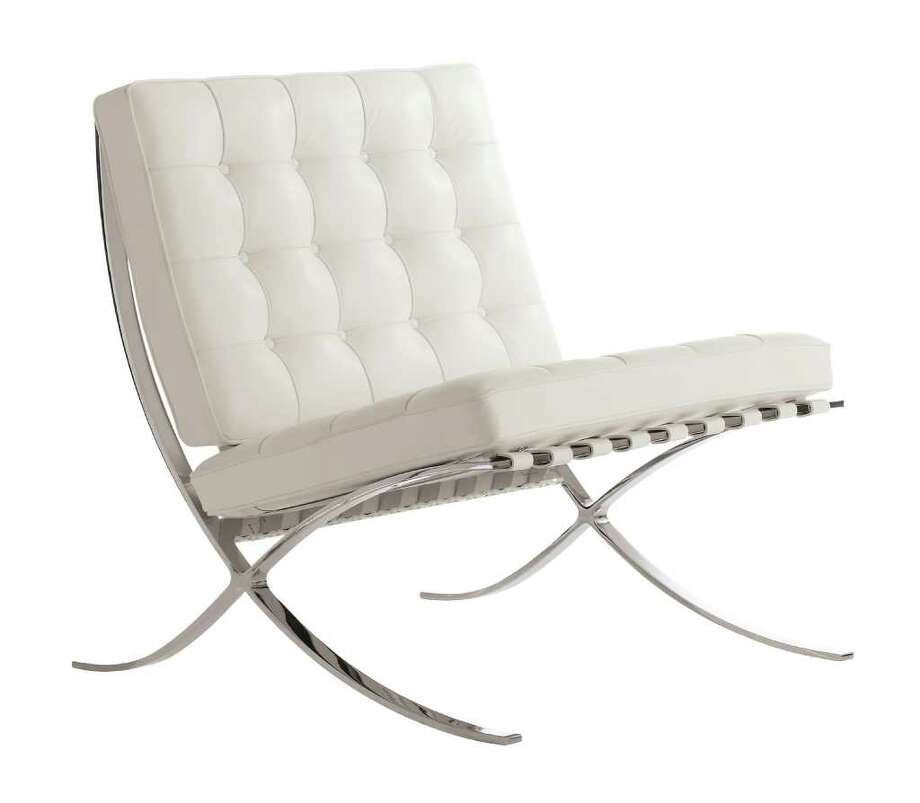 Design Within Reach's Barcelona Chair , designed by Ludwig Mies van der Rohe, produced by Knoll Photo: Contributed Photo / Stamford Advocate Contributed