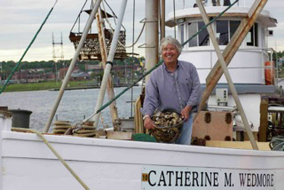 Pictured is Capt. Jeff Northrop, president of Westport Aquaculture, which provides oysters to, among others, Westport's The Dressing Room, The Grand Central Oyster Bar in Manhattan and more recently, upscale night clubs like Lavo. Photo: Contributed Photo / Westport News
