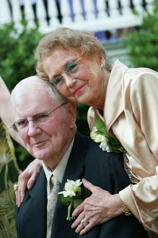 Bill and Terry O'Brien, of Fairfield, celebrated their 60th anniversary this year. Photo: Contributed Photo / Fairfield Citizen contributed