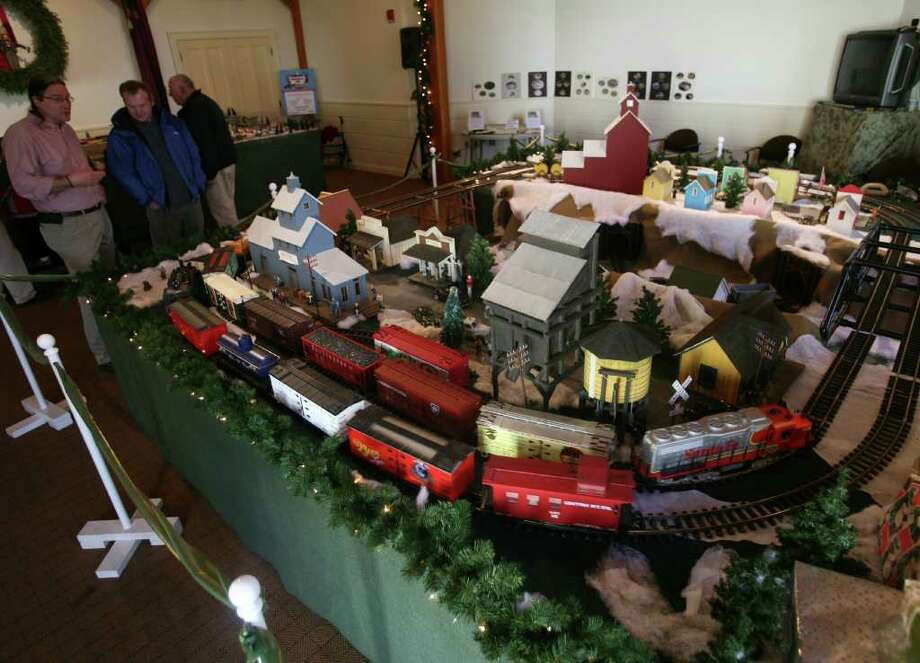 The annual Holiday Express Train Show at the Fairfield Museum and History Center is on view through Jan. 2. Photo: Brian A. Pounds, ST / Connecticut Post
