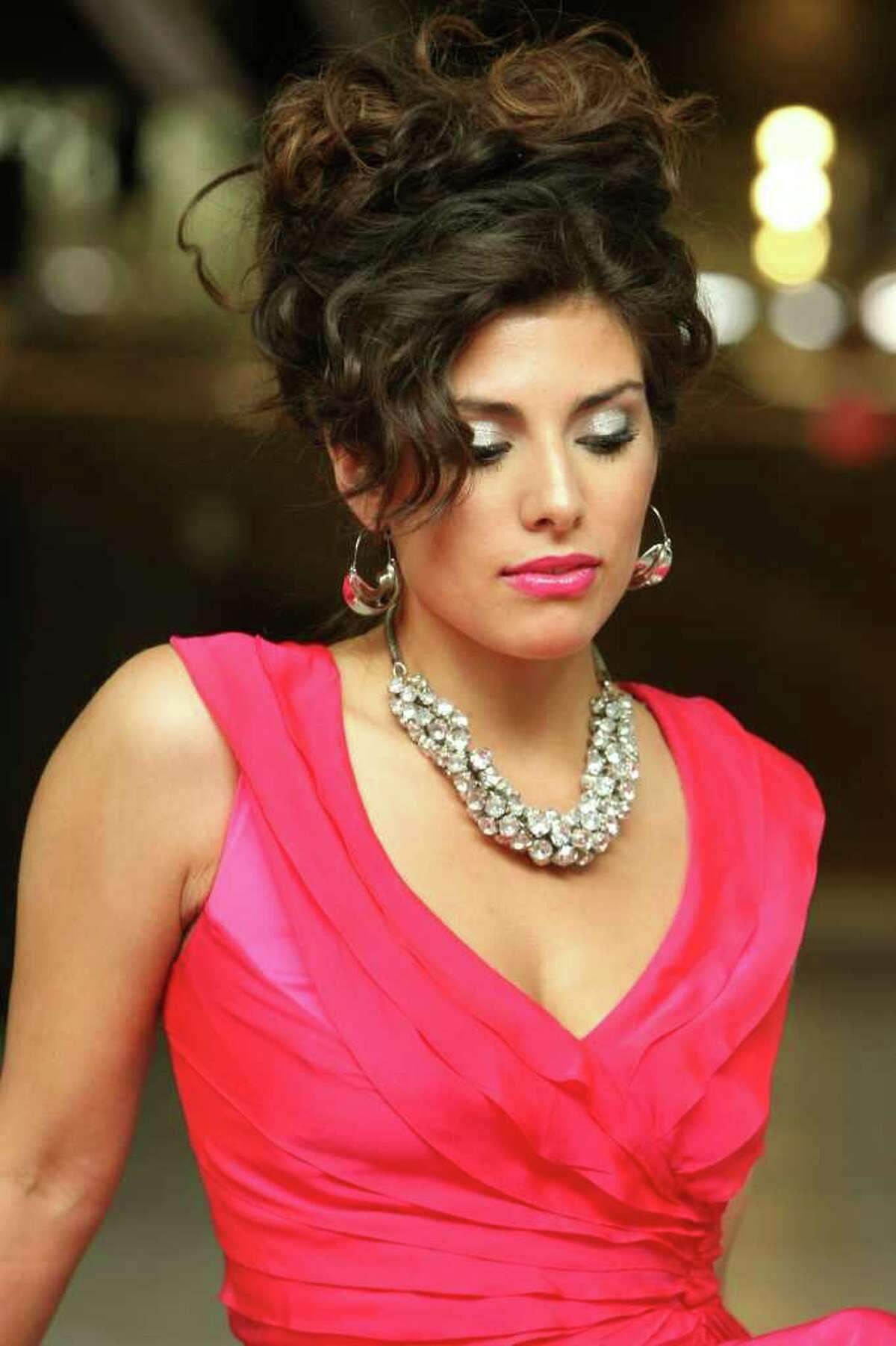 CONEXION: Christina Garcia, 2010 Hottest Latina contest winner. Photographed Sunday May 17, 2010. HELEN L. MONTOYA/hmontoya@express-news.net
