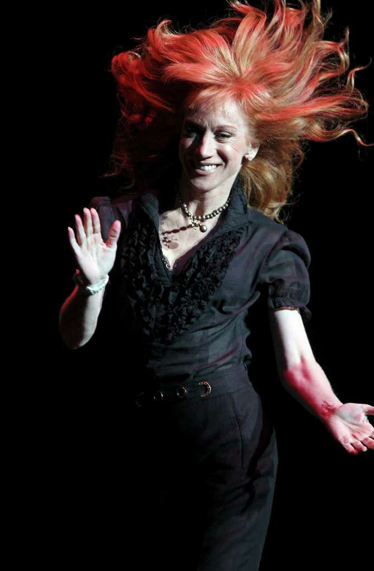 Kathy Griffin performs at the Majestic Theatre in  2010.