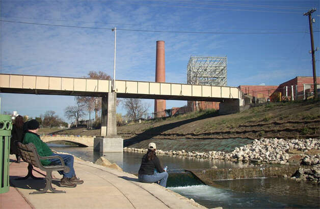 Phase 1 of the Mission Reach project along the San Antonio River has opened to the public. It features walking trails, hike and bike paths and park areas for visitors.