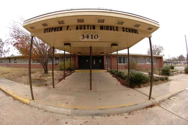 BISD's Stephen F. Austin. Middle School is one of the district's two middle schools that are on a list from the TEA of schools that must allow their students the opportunity to transfer because student performance on state tests was below standards. Pete Churton/The Enterprise Photo: Pete Churton / Beaumont