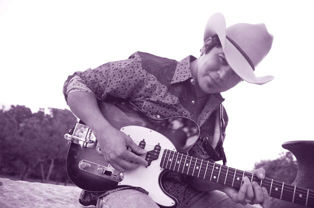 Texas-born musician Ruben V will bring his hot guitar licks to Sam's Burger Joint Thursday night. COURTESY PHOTO
