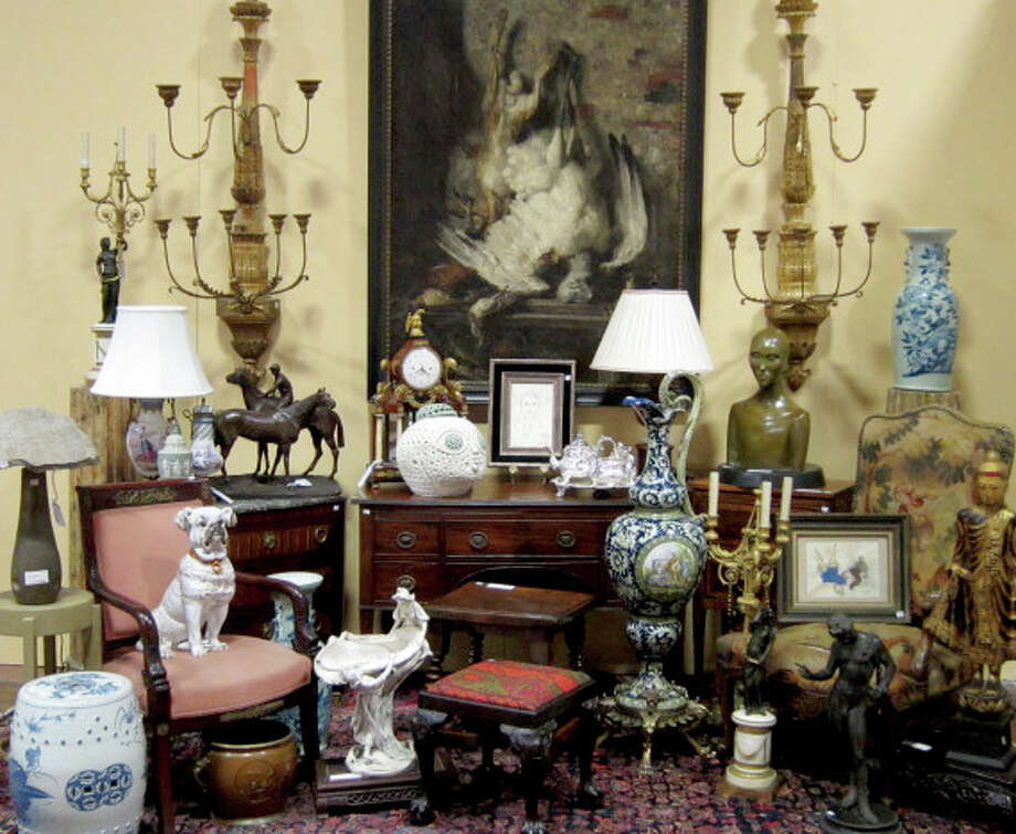 These are some of the items that will be on the auction block. Photo: Contributed Photo / Norwalk Citizen