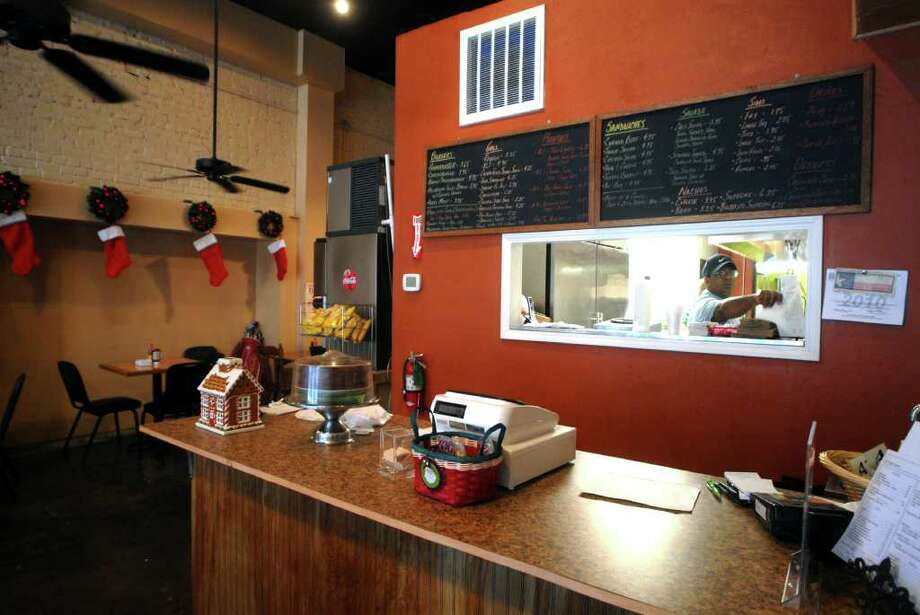 Chuck's Sandwich Shop in downtown Beaumont  recently moved across the street into the former Barking Dog. The new location has a couple new menu items and opens an hour and a half earlier. Beth Rankin/The Enterprise