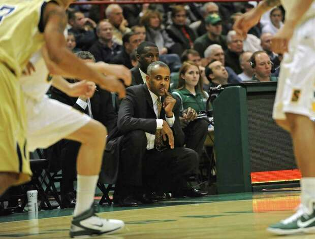 Georgia Tech coach Paul Hewitt during a basketball game against Siena at the Times Union Center in Albany, NY on December 22, 2010.  (Lori Van Buren / Times Union) Photo: Lori Van Buren