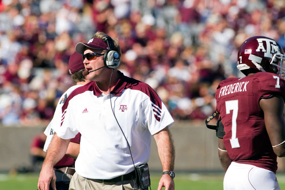 Tim DeRuyter's defense ranks 50th in the nation, which is 55 spots better than last season, when A&M's 'D' was worts in the Big 12.