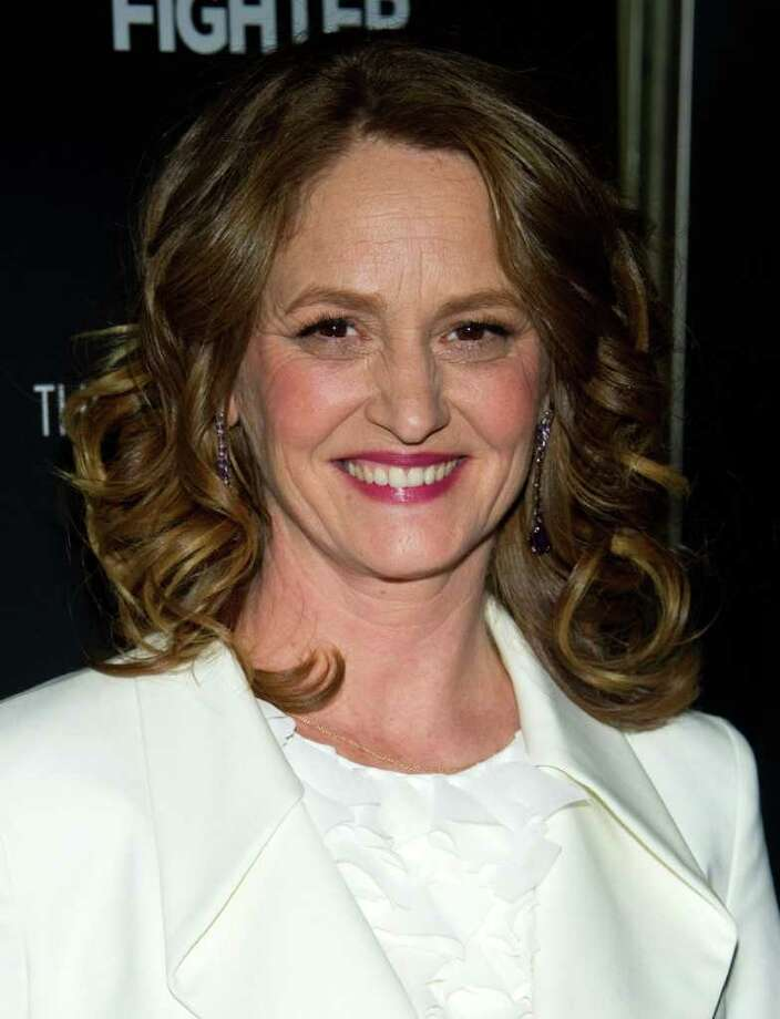 "In this Dec. 10, 2010 file photo, actress Melissa Leo attends a screening of ""The Fighter"" hosted by The Cinema Society in New York. Leo was nominated for a Golden Globe for best supporting actress in a motion picture drama, Tuesday, Dec. 14, 2010, for her role in ""The Fighter."" The Golden Globe awards will air on Jan. 16 on NBC. (AP Photo/Charles Sykes, file) Photo: Charles Sykes / AP2010"