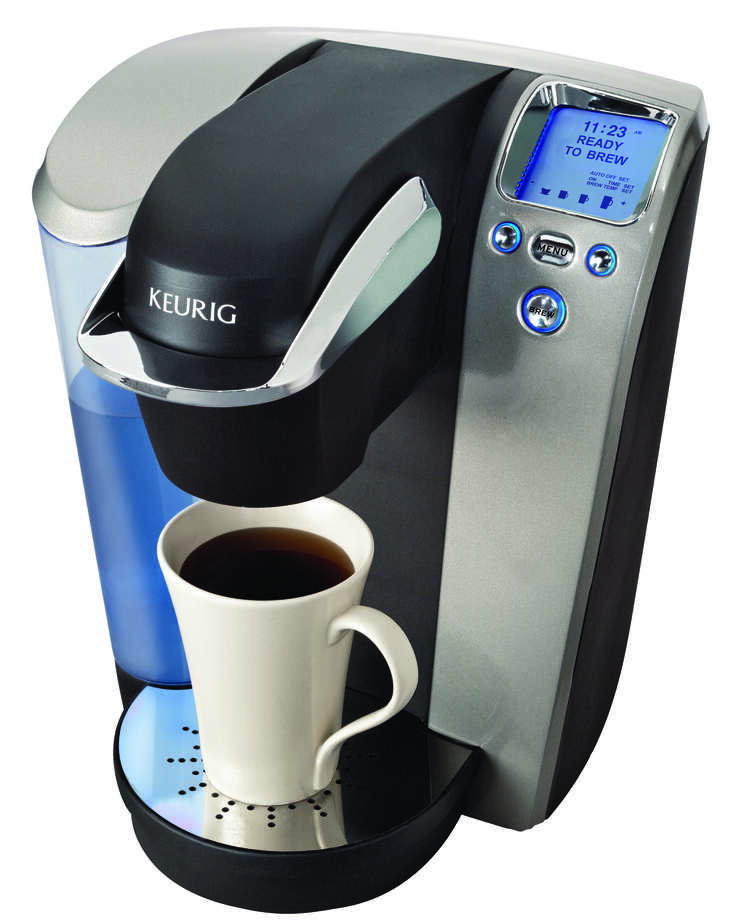 Keurig's Platinum B70 brewer at Sunset Ridge Home & Hardware. COURTESY PHOTO