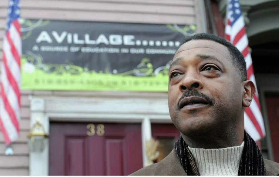 A serious personal injury at work and the senseless death of an Albany girl inspired Willie White to form a AVillage Inc., a grassroots group that works to improve conditions in his South End neighborhood in the city. White appears outside his Morton Avenue home in Albany. Photo: Skip Dickstein / 2010