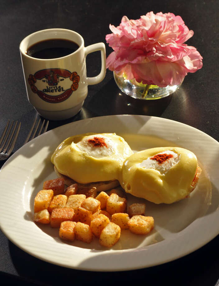 Eggs Benedict at Little Gretel.PHOTO BY ROBIN JERSTAD/SPECIAL TO THE EXPRESS-NEW