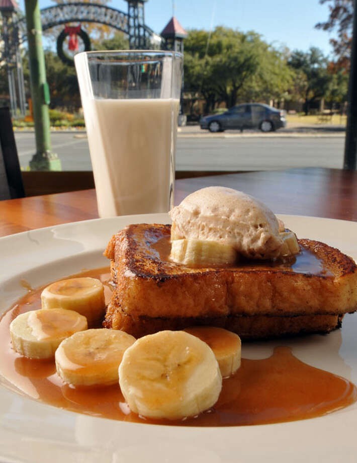 Nutella stufffed french toast from Insignia.  PHOTO BY ROBIN JERSTAD/SPECIAL TO THE EXPRESS-NEWS