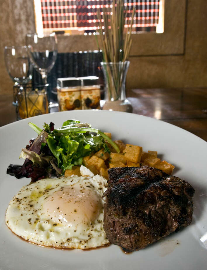 The Steak and Egg breakfast from Tost  PHOTO BY ROBIN JERSTAD/SPECIAL TO THE EXPRESS-NEWS