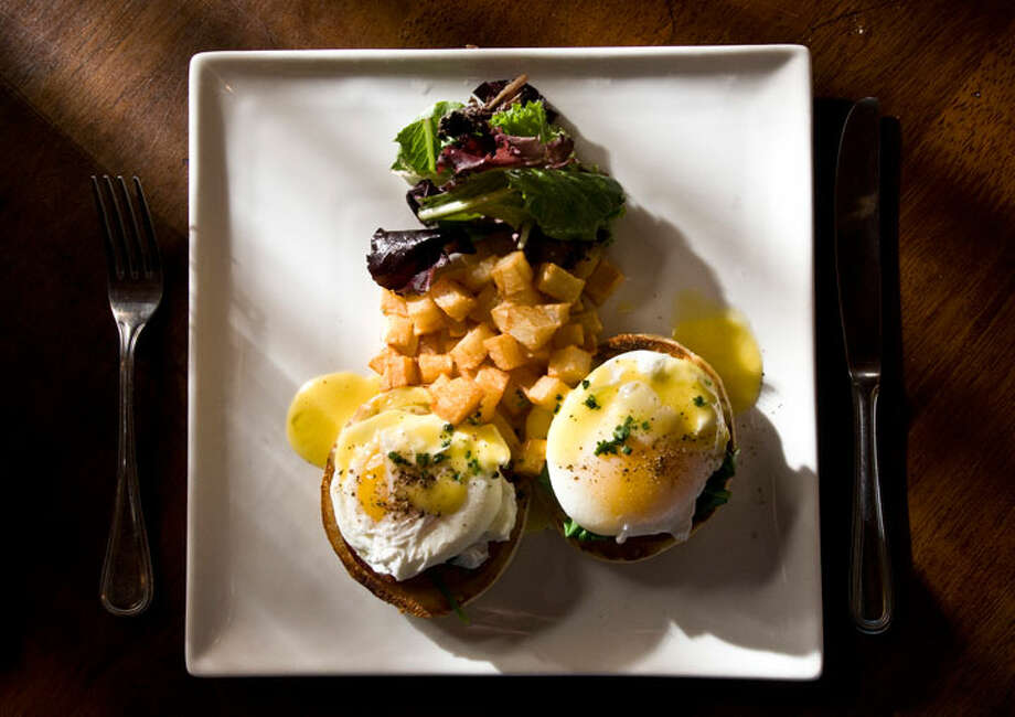 Eggs Benedict from Tost.PHOTO BY ROBIN JERSTAD/SPECIAL TO THE EXPRESS-NEWS