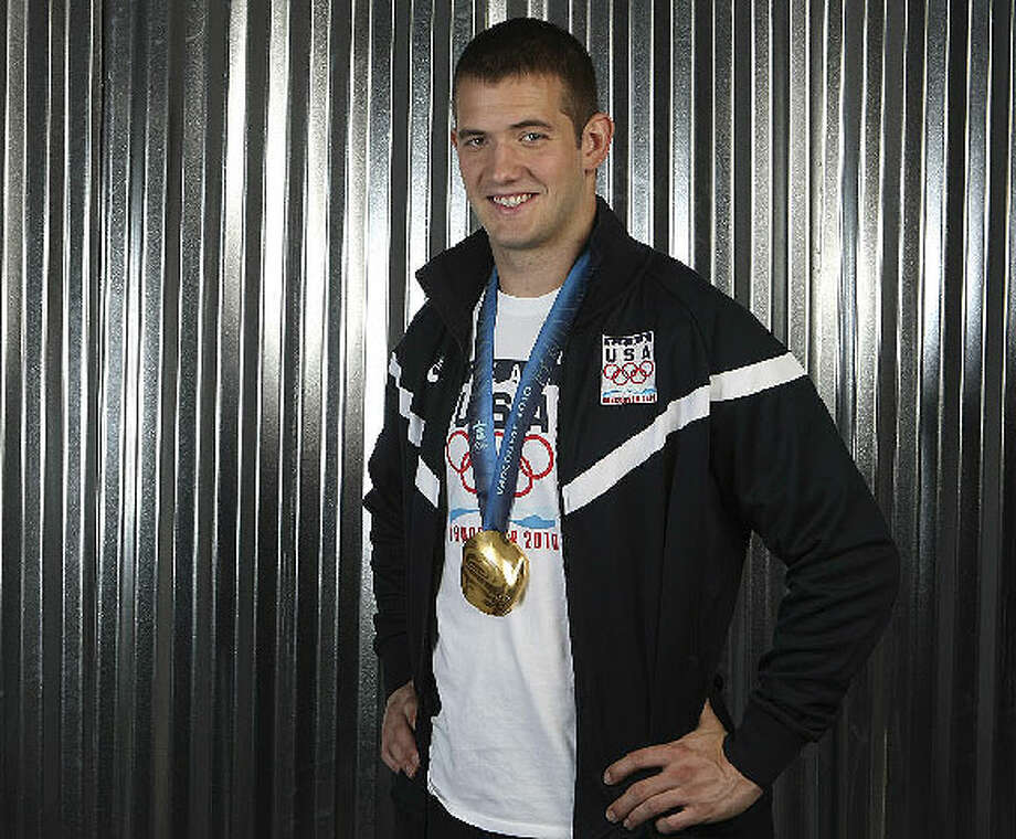 Justin Olsen, an O'Connor High School graduate, was part of the first United States four-man bobsled team in 62 years to win an Olympic gold medal. Photo: HELEN L. MONTOYA/hmontoya@express-news.net