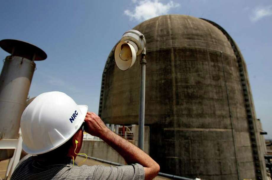 4. Nuclear plant: The Nuclear Regulatory Commission's Victor Dricks looked at Unit No. 2 at the South Texas Project near Bay City. Photo: John Davenport/Express-News / jdavenport@express-news.net