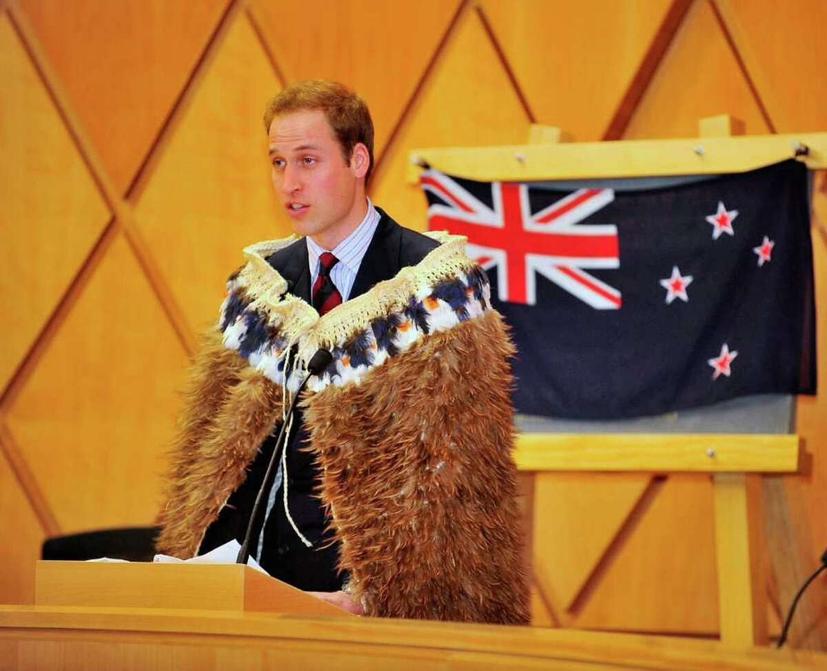 WELLINGTON, NEW ZEALAND - JANUARY 18: HRH Prince William officially opens the Supreme Court on the second day of his visit to New Zealand on January 18, 2010 in Wellington, New Zealand. HRH will undertake numerous engagements during his 3 days in New Zealand, before heading off for a further 3 days in Australia. This is the first official overseas visit for the second-in-line to the throne. (Photo by Mike Heydon/Getty Images) *** Local Caption *** Prince William